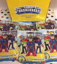 IMAGINEXT DC Super Friends Series 2 Blind Bag Set Brainiac Sinestro Black Manta