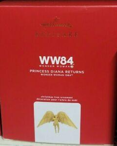 2020 Hallmark Princess Diana Returns Wonder Woman 1984 Ornament