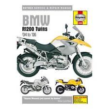 BMW R1200 Haynes Repair Manual 4598