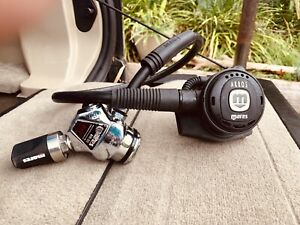 Mares scuba regulator first stage and second stage
