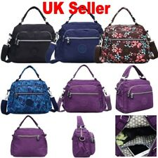 UK Sale Women Nylon Monkey Handbag Shoulder Bags Messenger Cross Body Tote Purse