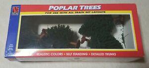Life Like Trains HO Scale Poplar Trees Hand Made #1005