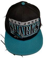 San Jose Sharks NHL Hockey Hat Snapback Adjustable Cap Adult