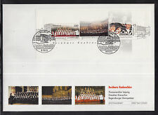 K 01 ) Germany 2003 beautiful Large FDC - Famous boys choirs