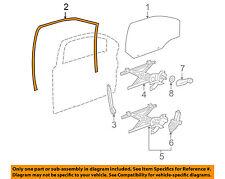 Chevrolet GM OEM Cobalt Front Door-Window Run Track Weatherstrip Left 20906470