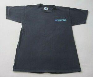 Vintage Sideout Shirt Volleyball Men's L Black 90's Volleyball Singe Stitch V1