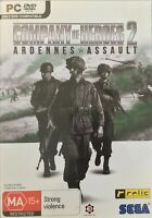 Company Of Heroes 2 Ardennes Assault PC DVD Free Postage