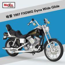 1:18 Maisto Harley Davidson 1997 FXDWG Dyna Wide Glide Motorcycle Model Black