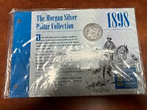Fine Detail 1898-S Morgan Silver Dollar Rare Sealed American Historic Society AH