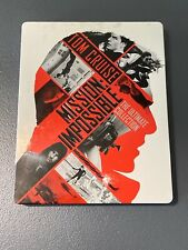 MISSION IMPOSSIBLE THE ULTIMATE COLLECTION BLURAY STEELBOOK ITALIE AVEC VF