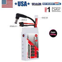 3000mAh 2S LiPo Battery for Fat Shark Glasses HD Goggles Hobby FPV RC Receiver