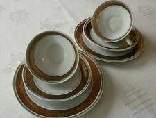 Sammelgedeck aus Marken Porzellan, wunderschöne Gold Bodüre sowie Goldrand. NEU