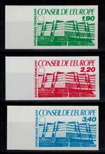 """(a35) timbres de service France n° 93/95 neufs** année 1986 """"non dentelés"""""""