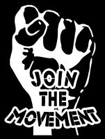 Join The Movement - Magnetic Sticker Magnet