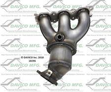Catalytic Converter-Exact-Fit - Manifold Right Davico Exc CA 18296