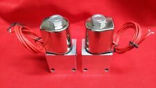 LOWRIDER HYDRAULICS Chrome Delta Style Dump (2 pcs)