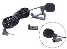 Car Stereo External Microphone 3.5mm Bluetooth Radio Handsfree HeadUnits Mic New