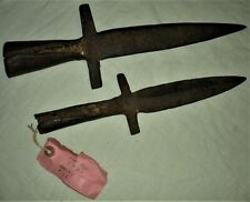 c1776 American Made Revolutionary War Pike / Spontoons Found Near Fort Gage vafo