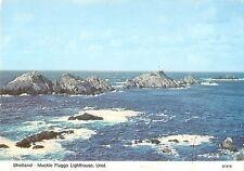 B96587 shetland muckle flugga  lighthouse unst   uk