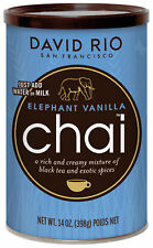 David Rio Chai Elephant Vanilla Vanille Tee Dose 398g