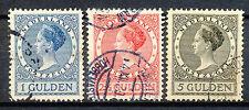 Nederland  163 - 165 A gebruikt