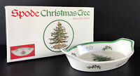 Spode England Christmas Tree Oval Serving Dish Handled Baking Dish Oven To Tabl