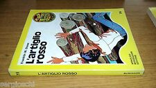 GIALLO RAGAZZI #  76-FRANKLIN W. DIXON-L'ARTIGLIO ROSSO-1974-MONDADORI