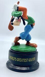Goofy World's Greatest Golfer sport PVC figurine Applause Disney Figure