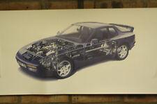 PORSCHE 944s2 PVC grande lavoro Negozio Banner Garage CAR SHOW Banner