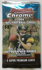 2004 Bowman Chrome Retail Pack (Eli Manning Ben Roethlisberger Rookie RC Auto)?
