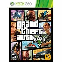 Grand Theft Auto V Xbox 360 GTA 5 - Brand New - Free Shipping!