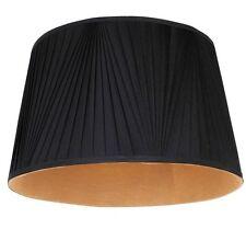 Style art déco or noir plissé grand plafond pendentif/lampe de table abat-jour neuf