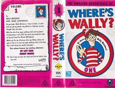 WHERE'S WALLY NUMBER 0NE  A  RARE FIND VHS VIDEO PAL~