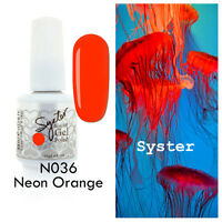 SYSTER 15ml Nail Art Soak Off Gel Polish Manicure UV / LED Lamp - NEON Color Set
