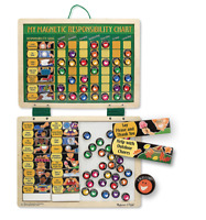 Melissa and Doug Magnetic Responsibility Chart - 13789 - NEW!