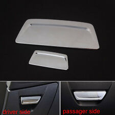 2xABS Chrome Driver Passager Glove box Lid Handle Cover Trim for Focus 2012-2015
