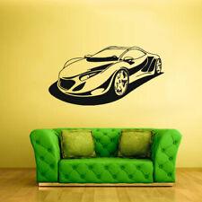 Wall Vinyl Sticker Bedroom Decal Sport Car (Z1993)