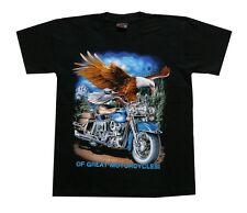 Biker T-Shirt Adler Bike,Gr. S,M,Western Indianer Rocker Triker Chopper Motorrad