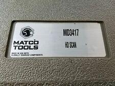 Matco Tools Auto Diagnostic Scanner Md3417 Class 4 8 Diesel Hd Scan Mint I 1636