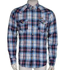 ID Denim 77 Check Shirt Men's Size Medium M