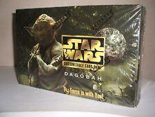 DECIPHER STAR WARS DAGOBAH LTD ED 9 CARD EXPANSION SET FACTORY SEALED BOX