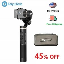 Used Feiyu G6 3-Axis Splashproof Gimbal for GOPRO OSMO ACTION Sony RX0