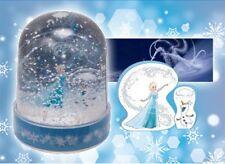 Frozen Disney Arendale Mini PVC Crystal Snow Globe Dome Anna Elsa Olaf Cloud
