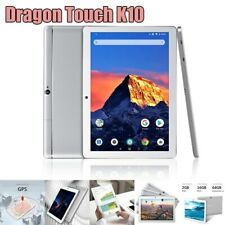 "Dragon Touch K10 10.1"" HD Quad Core Android Tablet 16GB WiFi HDMI FM Refurbished"