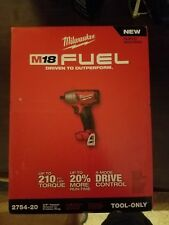 "NEW Milwaukee M18 FUEL 3/8"" Compact Impact Wrench with Friction Ring 2754-20"