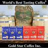 World's Best Coffees - 6 lb Combo - Jamaican Blue Mountain & Hawaii Kona.