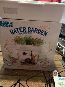 Back to the Roots Water Garden, Self-Cleaning Fish Tank/Mini Aquaponic Ecosystem