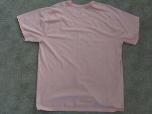 Mens Lulu lemon Fitness Shirt. Lightly Worn. Light Pink. XXL.