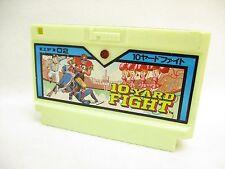 Famicom 10 YARD FIGHT LED Cartridge Only Nintendo Import fc