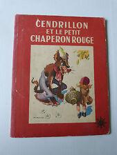 cendrillon et le petit chaperon rouge par CALVO de 1948